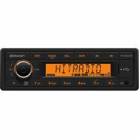 Continental 24V Radio - Bluetooth/MP3/WMA/USB - Kort indbyg. dybde - TR7423UB-OR